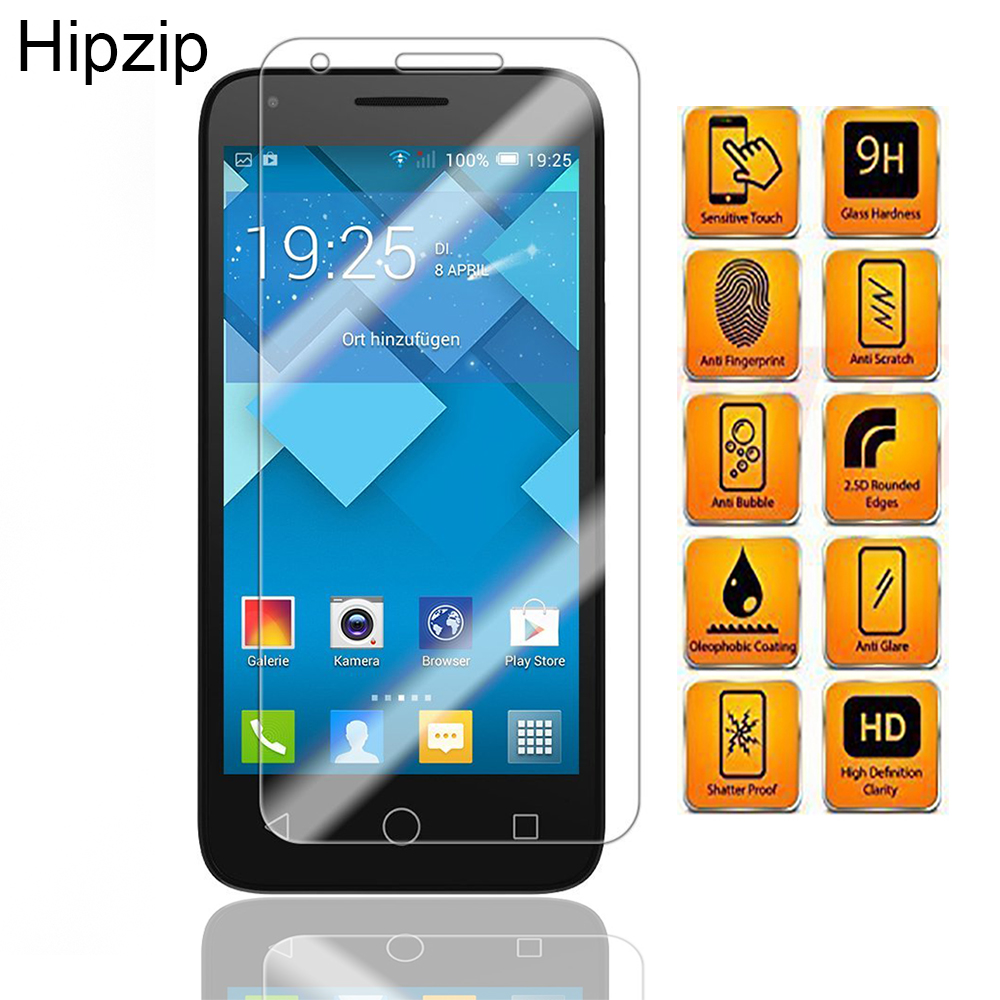 9h 0 26mm Clear Tempered Glass For Alcatel One Touch Pixi