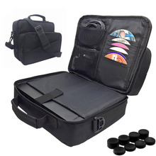Gaming Carrying Case,Travel Shoulder Bag for Xbox One X 1 X Console, Controllers, Games Accessories Protective Storage Pockets