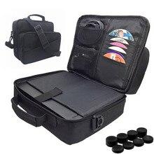 Oyun taşıma çantası, seyahat omuz çantası Xbox One X için 1 X konsolu, denetleyici, oyun aksesuarları koruyucu depolama cepler