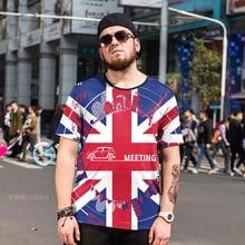 Oversized Men's Clothing Newest Men T shirt Fashion National flag print Design tops male plue size xl – 6xl T-Shirts man tee