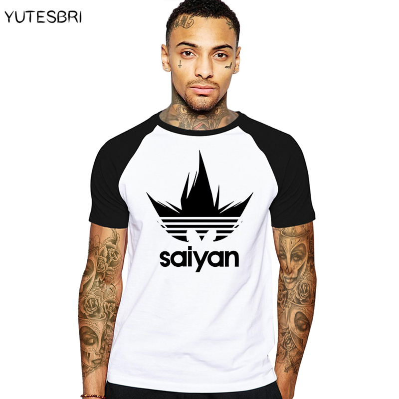 Fashion DRAGON BALL Men T Shirt summer saiyan clothes Short sleeve T-Shirt swag cotton Tee Shirts christmas Camisa Masculina