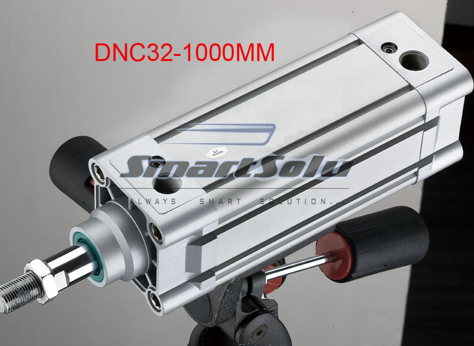 free shipping ISO6431 standard DNC32-1000-PPV-A aluminum material 32mm bore,1000mm stroke, pneumatic cyilnder air cylinder free shipping 5pcs lots lng 100 iso6431 cylinder attachment inclined installation of the support dnc se cylinder accessories