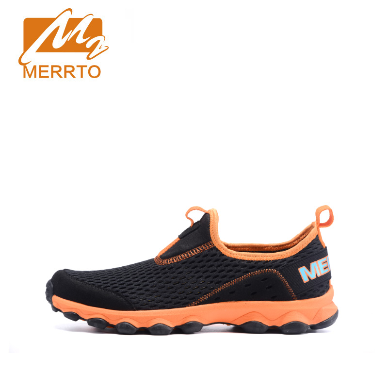MERRTO breathable and comfortable sport running shoes  for men  summer#MT18602-1 kelme 2016 new children sport running shoes football boots synthetic leather broken nail kids skid wearable shoes breathable 49