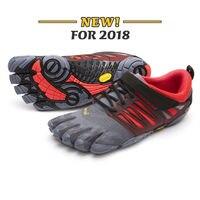 Vibram Fivefingers V TRAIN Мужская обувь Тяжелая атлетика приседания тренировка бега спорт пять пальцев на пять пальцев кроссовки в спортзале