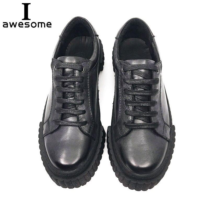 Chaussures de mode à la main marque de luxe chaussures plates pour homme 100% véritable cuir souple décontracté à lacets plats respirant hommes baskets 410