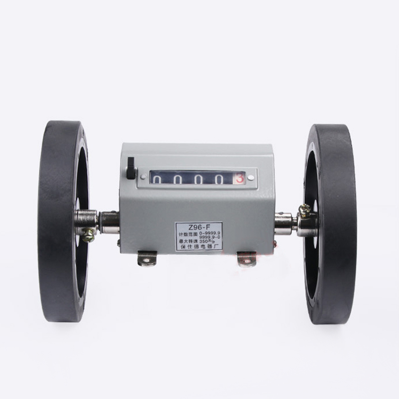 Best Price Roller Wheel Mechanical Meter Yard Counter JM316 Z94F Z96F 5 Digital Tesxtile Frabric Length Meansurment Counters in Counters from Tools