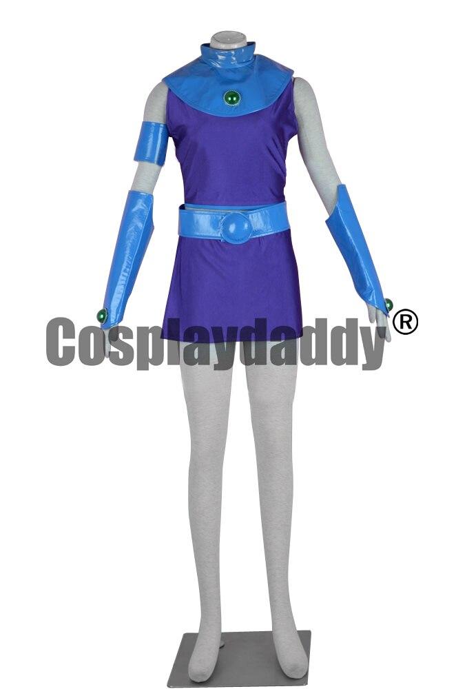 Teen Titans Starfire Tamaran Princess Cosplay Costume F006 mars pattern warhound titans full set f006