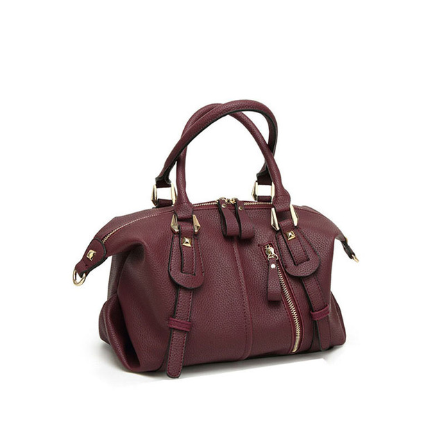 da798d0fb6 The latest design ladies handbag small bag solid color shoulder bag fashion  trend leisure lady Messenger bag