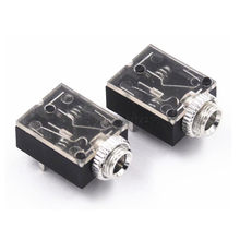 Hot sale 5 Pin 3.5mm Stereo Audio Jack Socket PCB Panel Mount for Headphone With Nut PJ-324M(China)