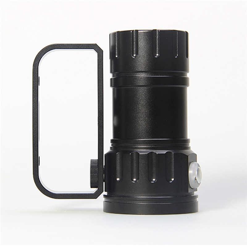 led flashlight 18650 LED Flashlight Photography Light Underwater powerful led flashlight waterproof laser pointer #4S10 цены