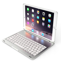 7 Colors Backlit Light Wireless Bluetooth Keyboard Case Cover For iPad Pro 10.5 New 2017