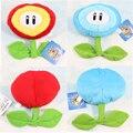 Super Mario de Hielo Flores de Peluche De Juguete 17 cm Lindo Mini Super Mario Ice Flower Peluche de Juguete Muñeca de Cumpleaños de Navidad regalo