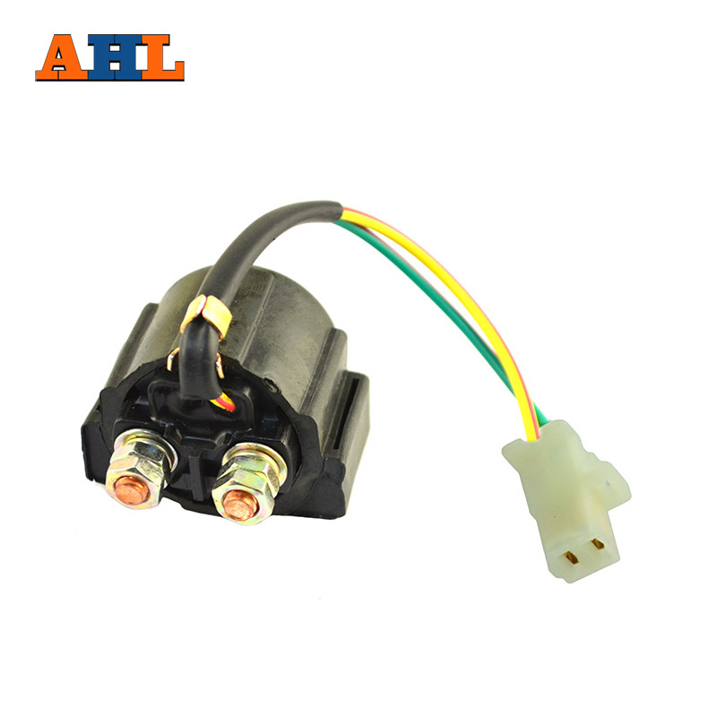 AHL Street ATV Motorcycle Electrical Parts Starter Solenoid Relay Ignition Key Switch For Yamaha TIMBERWOLF 250 YFB250 1992-1999 ...