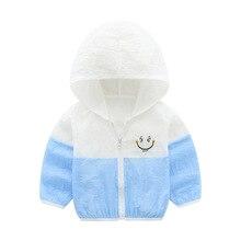 summer children sunproof jacket for boys girls coat fashion patchwork style Beach Wear