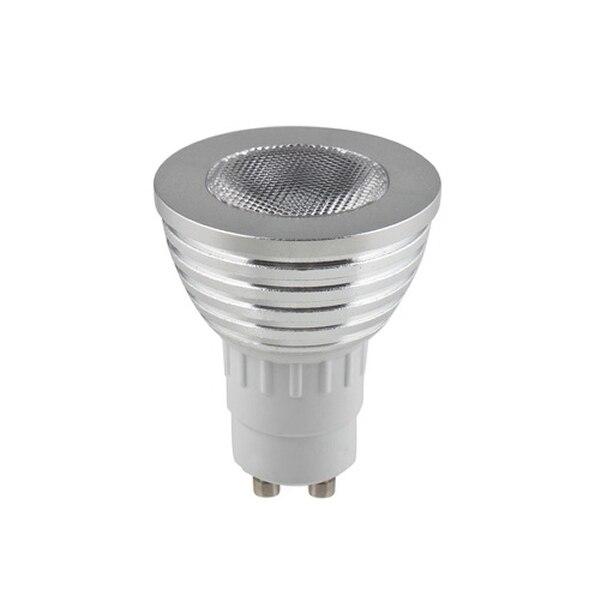 ICOCO Universal 1 set GU10 4W RGB LED Light Bulb Color Change Lamp with Remote Control 100-240V