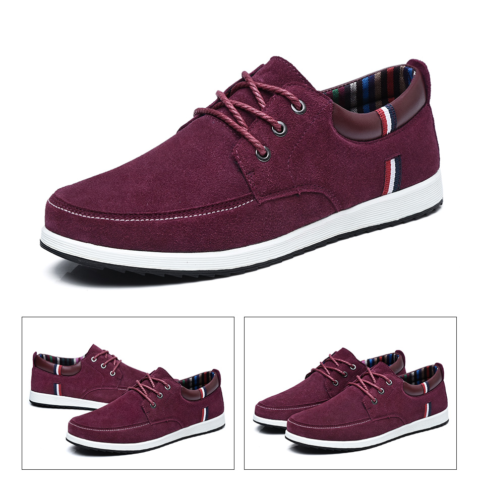 Moccasin Fashion Male Boat Suede Shoes