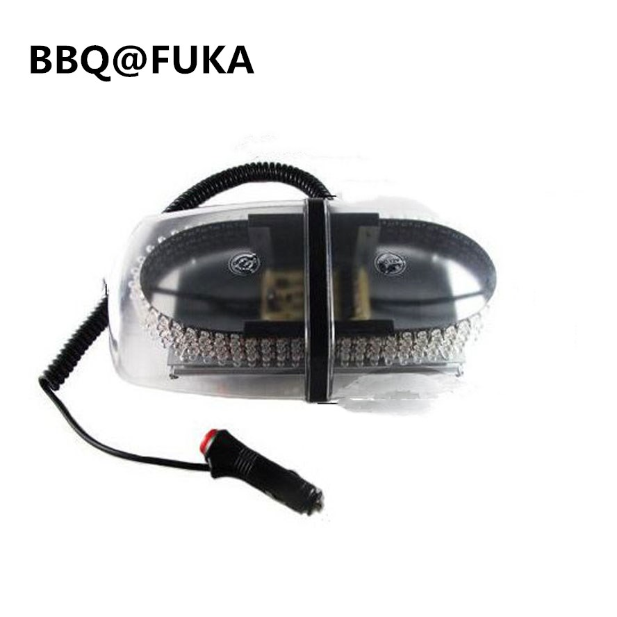 BBQ@FUKA 1pcs 240 LED Amber Light Bar Roof Top Emergency Warning Light Flash Strobe Truck Car Fit For Universal Car-Styling разговорник для англоговорящих english russian phrase book