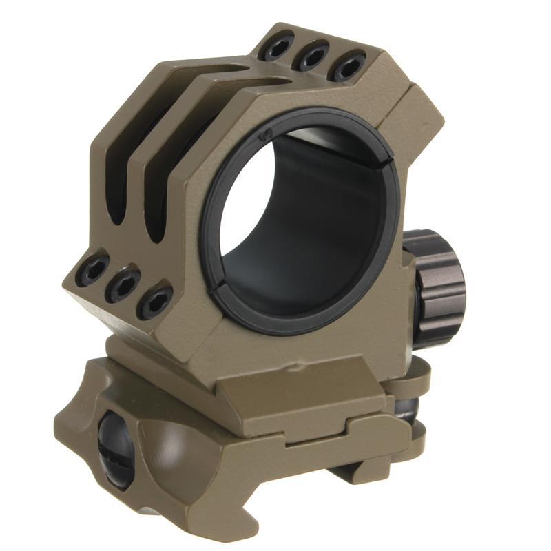 Alta calidad 30mm/25.4mm Anillos ajuste 20mm Weaver/picatinny Rail Montaje Del A
