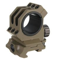 High quality 30mm/25.4mm Rings fit 20mm Weaver/picatinny Rail Scope Mount QD Quick Release for shooting for Hunting