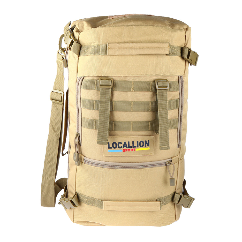 2017 Outdoor Sport Women Bag Mountaineering Tactical Backpacks Hiking Camping Men Travel bags Camouflage Laptop Backpack ARE4 outdoor camping men bag mountaineering 35 litre backpacks coffee black cylindrical canvas rucksack women hiking travel daypack