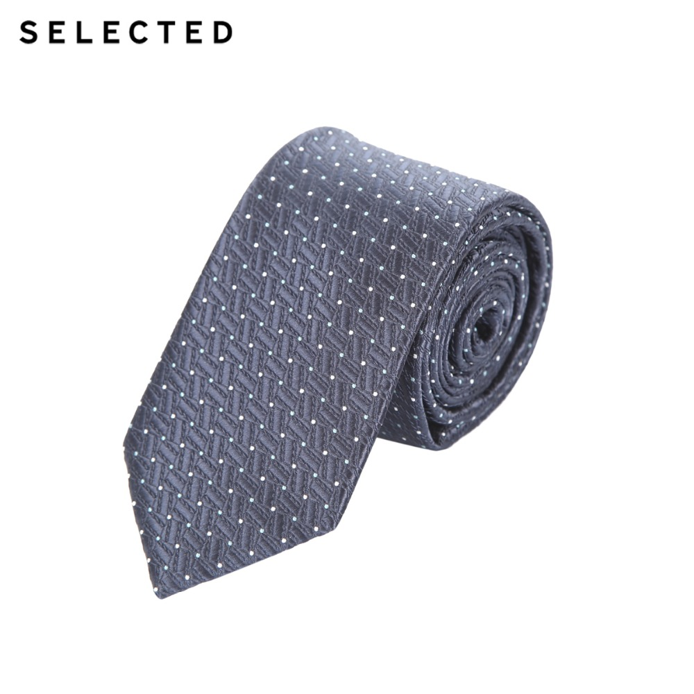 SELECTED Men's Printed Business-casual Tie A|41711T501