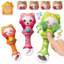 Baby Rattles Toys Music Hand Shake Bed Bell Newborns Plastic