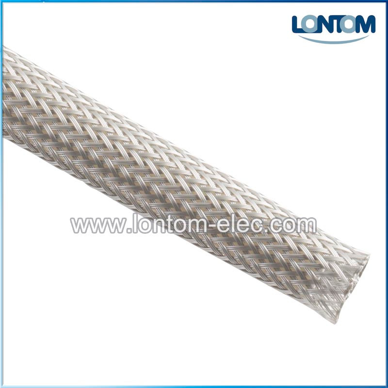 EXPANDABLE GREY BRAIDED FLEXIBLE CABLE SLEEVING BRAIDED SLEEVING POLYESTER 10 Meters x 6mm