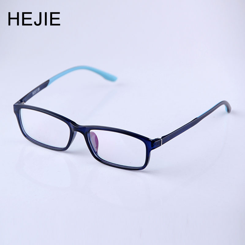 HEJIE Unisex TR90 Anti Blue Rays Myopia Reading <font><b>Glasses</b></font> Lens Comfort Diopter 0+0.25+<font><b>0.5</b></font>+0.75+1.0+1.25+1.5+1.75+2.0 to +4.0 Y1061 image