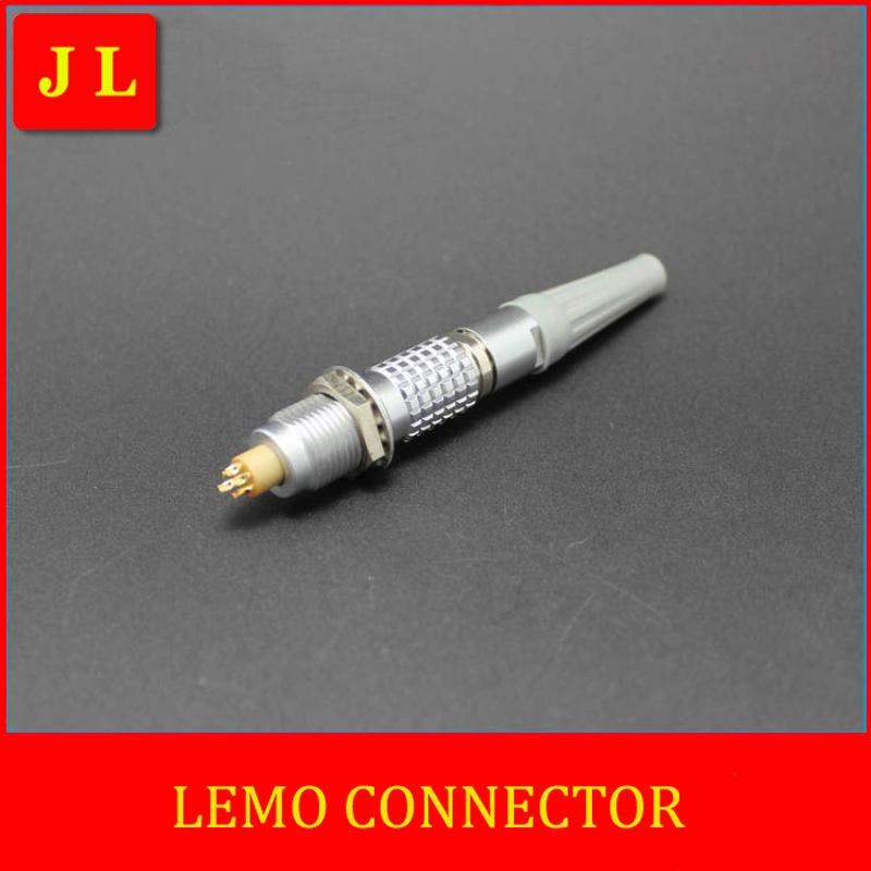 LEMO  FGG.0B.307.CLAD/EGG.0B.307.CLL, Circular metal plug self-locking connector,LEMO connector B series