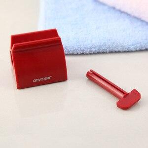 Image 3 - Banyo aksesuarları seti haddeleme diş macunu sıkacağı tüp diş macunu diş macunu sıkacağı dağıtıcı yaratıcı diş macunu tutucu