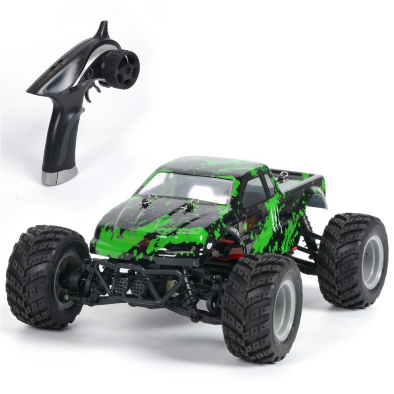 все цены на Outside boy Racing RC toy S919 2.4G 4WD 1/18 30KM/H High Speed Monster Truck Off-Road RC Radio Remote Control Toys birthday gift онлайн