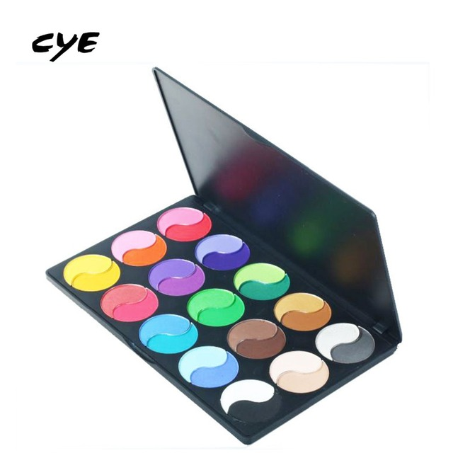 2016 New 30 Different New fashion 30 Earth Colors Matte Pigment Eyeshadow Palette Cosmetic Makeup set Eye Shadow For Women