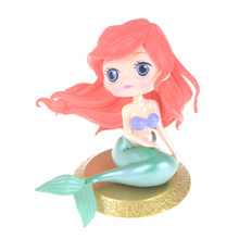 Q Posket Characters The Little Mermaid Princess Ariel PVC Figure Collectible Model Toy 11cm(China)