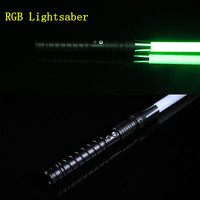 11 Colors Lightsaber Boy Gril Toy Flashing Sword RGB Sword Cosplay Interesting Star Laser Emitting Outdoor