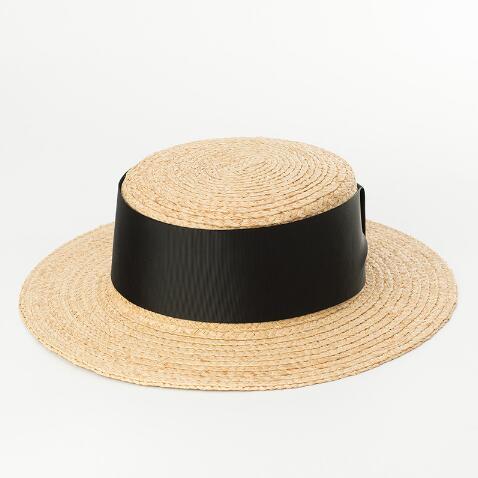 Nuevo verano al aire libre mujeres rafia sombrero de paja Sun ... 44c494e31168