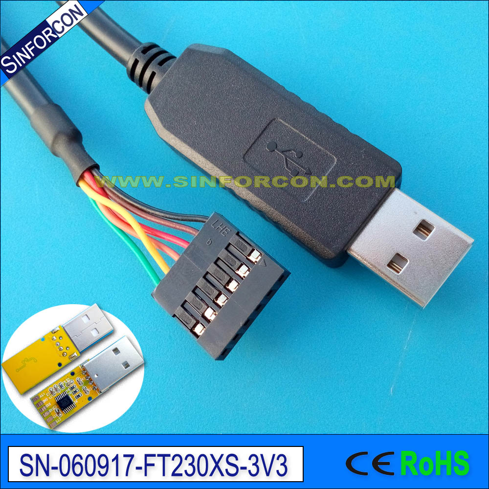 win8 10 android mac ftdi ft230x usb uart for galileo gen2 console cable program cable ttl-232r-3v3 купить