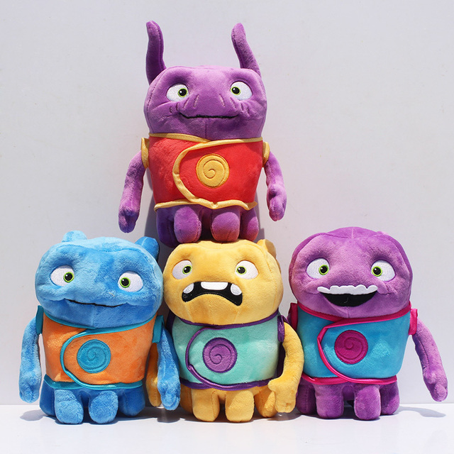 Aliens Drive Me Crazy Toy Home OH Plush Toys Super Amazing Aliens Tip  Mascot Captain Boov
