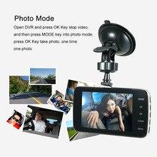 KKmoon 3.6″ Dual Lens Car DVR Dash Cam Camera Camcorder Vehicle Location / LED Night Vision / Motion Detection / Loop Recording