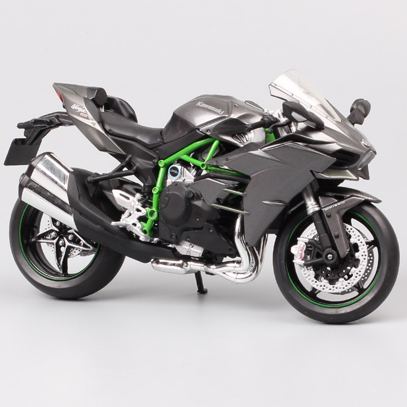 1/12 Automaxx Kawasaki Ninja H2 supersport bike H2R scale motorcycle Diecasts & Toy Vehicles model thumbnails for kid collectionDiecasts & Toy Vehicles   -