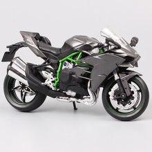 1/12 automaxx kawasaki ninja h2 supersport bicicleta h2r escala diecasts da motocicleta & veículos de brinquedo modelo miniaturas para a coleção do miúdo