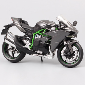 Image 1 - 1/12 Automaxx Kawasaki Ninja H2 supersport bike H2R scale motorcycle Diecasts & Toy Vehicles model thumbnails for kid collection