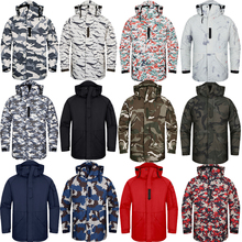 Premium Edition SouthPlay Men's Waterproof 10,000mm Winter Season Warming Camo Army Color Jackets
