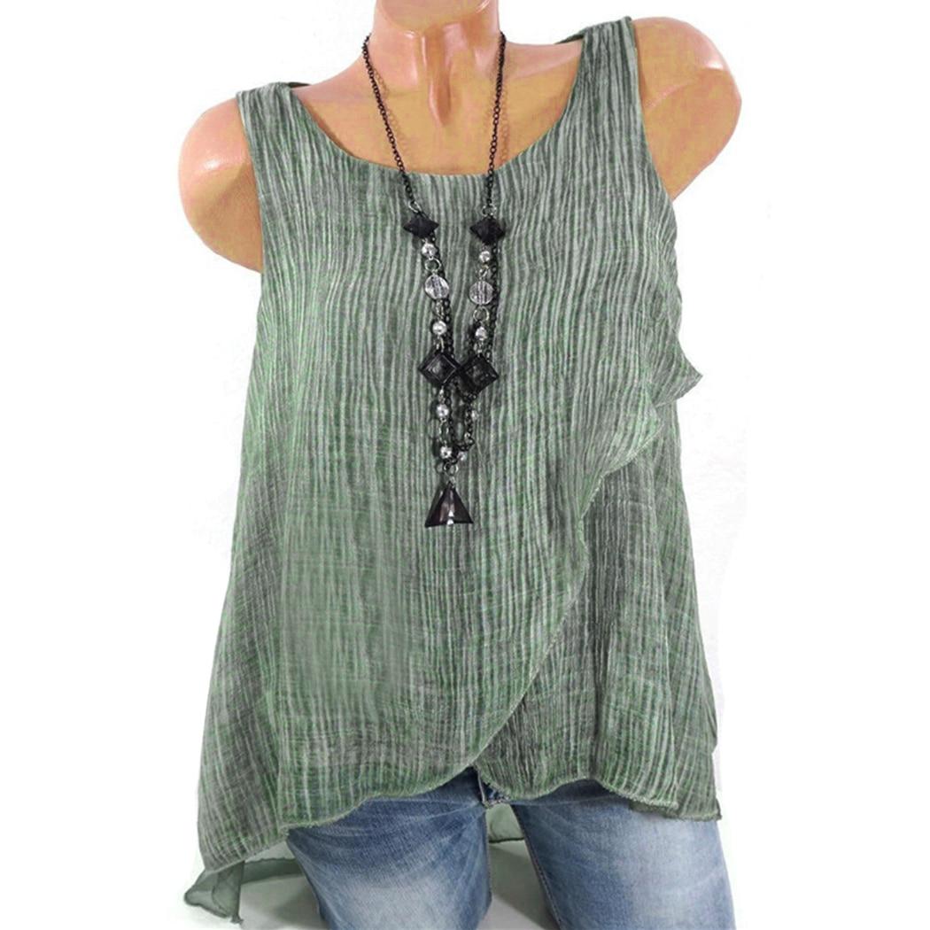 af47d90647b Vintage Women Summer Chiffon Tunic Tops Women Plus Size Blouse ...