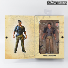 Figura de Nathan Drake del juego Uncharted en PVC de 15 cm