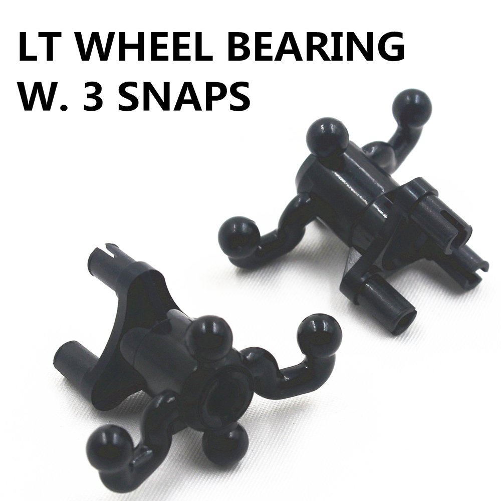 Building Blocks MOC Technic Parts 4 Pcs LT WHEEL BEARING W. 3 SNAPS Compatible With Lego For Kids Boys Toy MOC4227853
