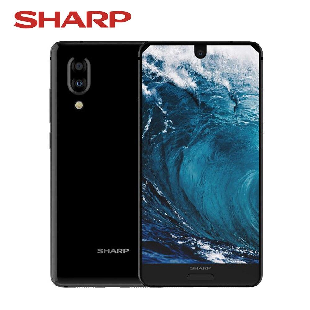 HTB1FuecR3HqK1RjSZFPq6AwapXa0 Global Version Sharp AQUOS S2 C10 4GB+64GB 5.5inch FHD+ Android8.0 Octa Core 12MP+8MP NFC Fingerprint 4G Smartphone