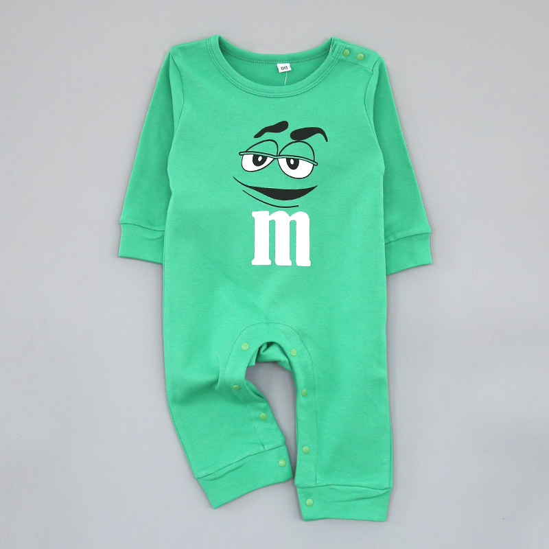 clothing wholesale 16 M printed cotton qiu dong ha clothing baby climb clothes jumpsuit Qiu dong is sell like hot cakes