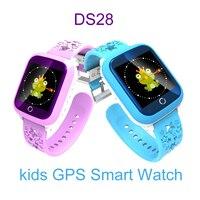 DS28 الأطفال موقف الذكية ووتش gps ووتش لدعوة sos الرصد السياج الطفل الإلكترونية الأمن لمكافحة خسر المقتفي