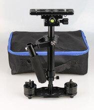 S40 + 0.4 м 40 см ручной Steadycam стабилизатор для Steadicam флеш-canon Nikon GoPro AEE DSLR
