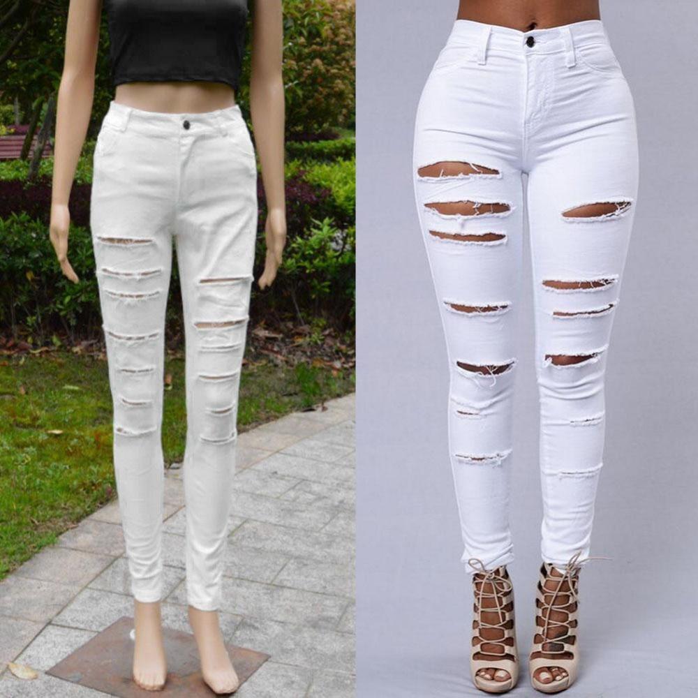 Kupuj online wyprzedażowe junior white jeans od Chińskich junior ...